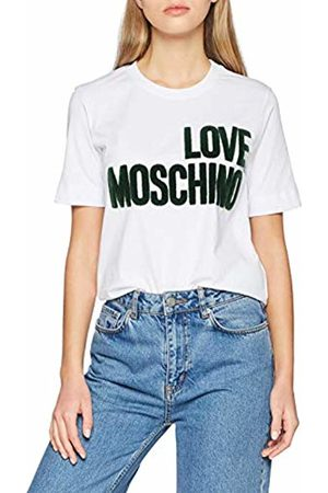Moschino Women's's Logo_Short Sleeve T-Shirt Optical A
