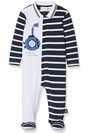 chicco Baby Boys' Tutina Con Apertura Frontale Playsuit (Blu Rigato 080) 18 (Size: 050)
