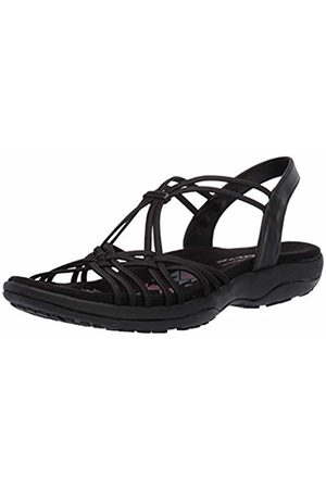 Skechers Women's Reggae Slim-Slip Spliced Sling Back Sandals, ( Blk)