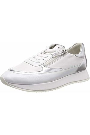 Högl Women's's The The Cloud Low-Top Sneakers, (Weiss/Silber 0276)