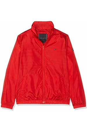Tommy Hilfiger Boy's Essential Tommy Jacket (Flame Scarlet 633) 128 (Size: 8)