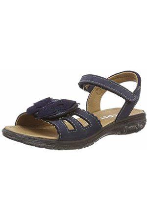 Ricosta Girls'' Kelebek Ankle Strap Sandals (Nautic 176) 11 UK