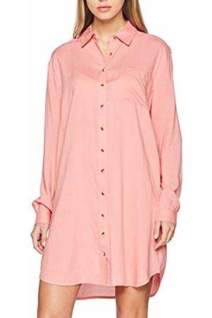 BlendShe Women's Bsrain R Sh Dr Dress, (Flamingo 25036)