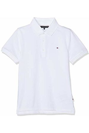 Tommy Hilfiger Boy's Essential Hilfiger Slim Fit Polo Shirt, (Bright 123)