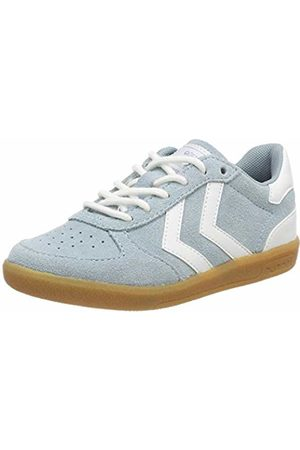 Hummel Kids' Victory Suede Jr Low-Top Sneakers (Arona 7014) 1.5 UK