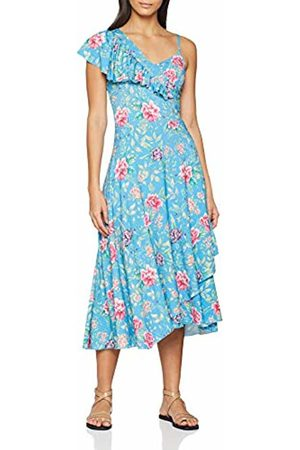 Joe Browns Womens Frilly Floral Maxi Dress 8