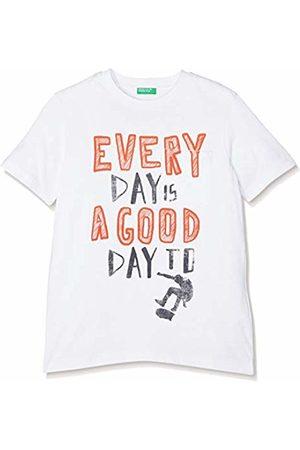 Benetton Boy's T-Shirt (Bianco 101)