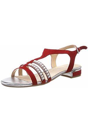 Caprice Women Sandals - Women's's Ariane Ankle Strap Sandals Suede 524