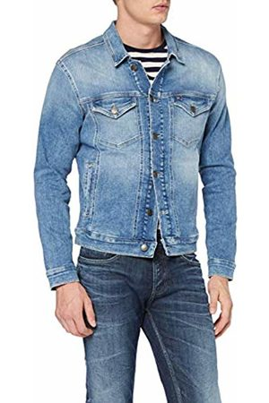 Tommy Hilfiger Men's Regular Trucker Jacket Denim L