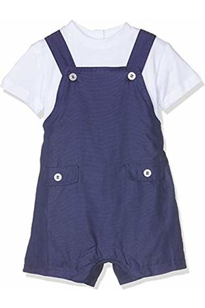 chicco Baby Boys' Completo T-Shirt Manica Salopette Corta Dungarees