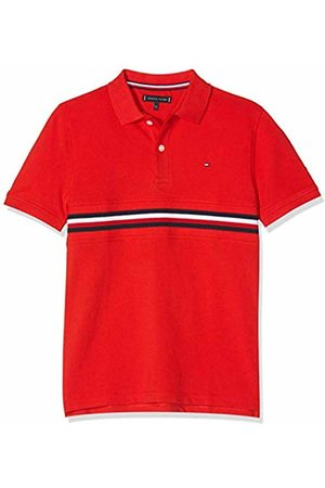 Tommy Hilfiger Boy's Flag Insert Polo S/s Shirt