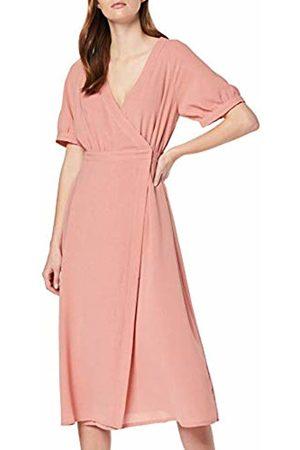 Lost Ink Women's WRAP Detail Midaxi Dress 0059