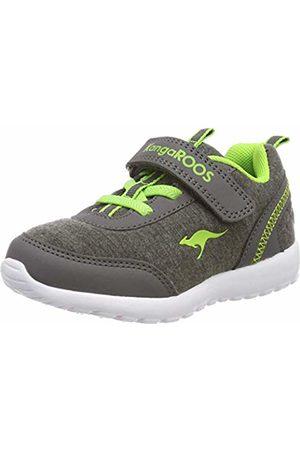 KangaROOS Babies' Citylite Ev Low-Top Sneakers, (Steel /Lime 2014)