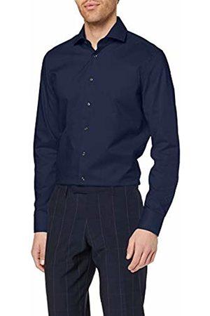 Seidensticker Men's's Slim Langarm Mit Kent Kragen Bügelfrei Formal Shirt