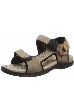 Geox Men's Uomo Sandal Strada B Open Toe