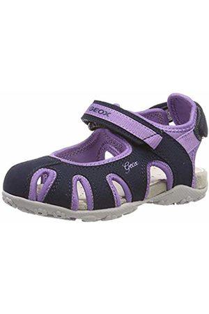 9bea37eb1bea42 Geox Girls' Jr Sandal Roxanne D Closed Toe Sandals