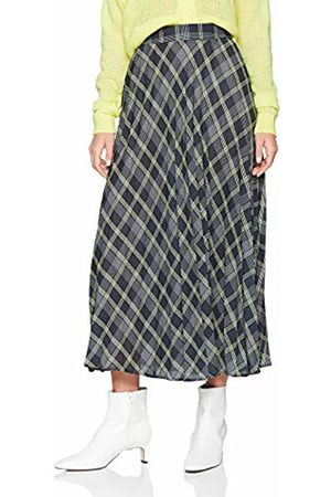 New Look Women's Lennox Check Midi6162060 Skirt