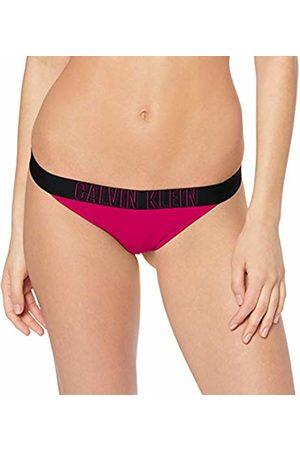 Calvin Klein Women's Brazilian Bikini Bottoms, (Beetroot 507)