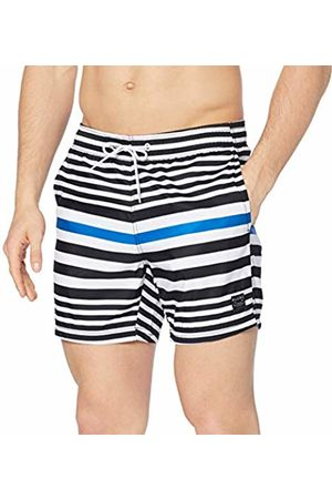 Blend Men's Swimwear Swim Trunks, (Dark Navy 74645)