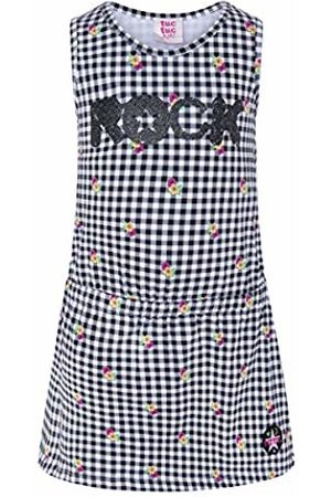 Tuc Tuc Girl's Vestido Punto Cuadros NIÑA Rockabilly Dress, ( 30)
