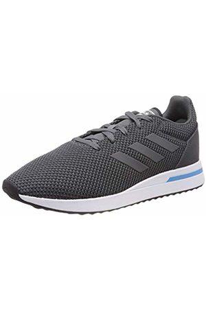 adidas Men's Run70s Running Shoes, Six/ Four F17/Shock Cyan