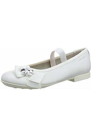 Geox Girls' Jr Plie' C Ballet Flats