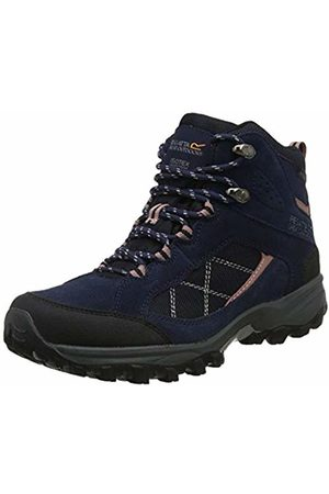 Regatta Lady Clydebank, Womens High Rise Hiking Boots, (Navy/AshRose)