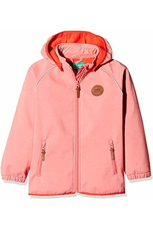 Green Cotton Softshell Jacket Girl (Dark Coral 017174401)