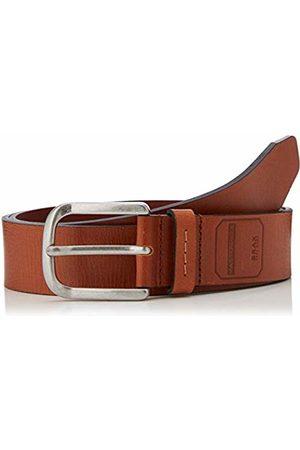 Brax Men's Masterpiece Büffelleder Uni Schließe American Silver Belt