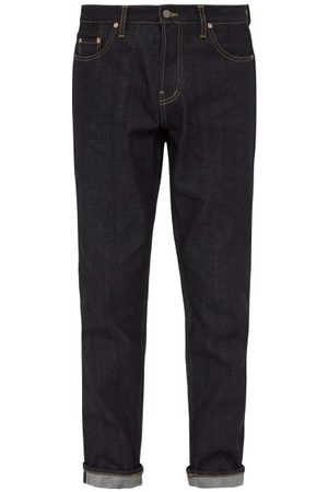Raey Raw Selvedge Denim Slim-leg Jeans - Mens - Indigo