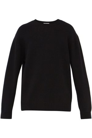Raey Men Jumpers & Sweaters - Sloppy Crew Neck Cashmere Sweater - Mens