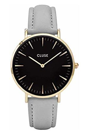 CLUSE Womens Analogue Quartz Watch with Leather Strap CL18411