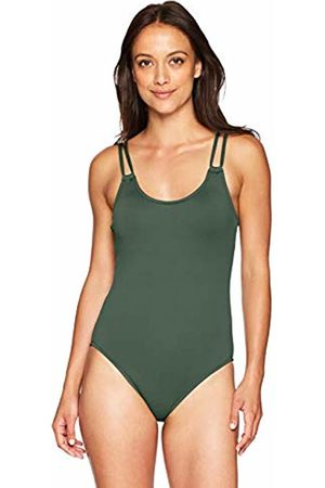 Seafolly Women's's Double Strap Maillot Swimsuit 8 (Size:)