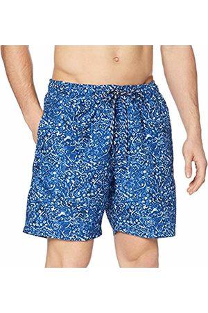 Izod Men's Fish Print Swim TRUMK Shorts S