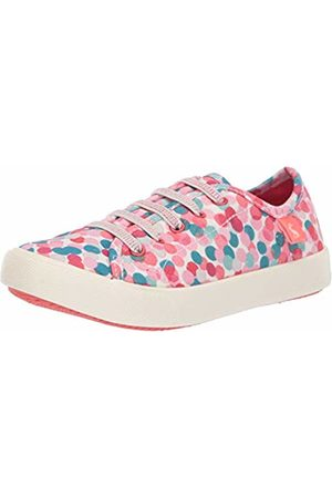 Joules Girls' Coast Trainers, ( Fairy Ditsy Whfairdtsy)
