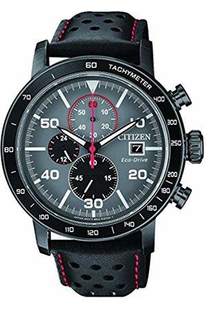Citizen Mens Chronograph Quartz Watch with Leather Strap CA0645-15H
