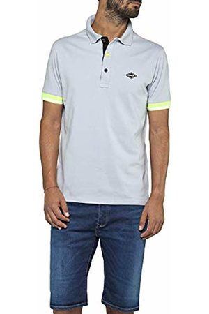 Replay Men's M3717 .000.20623 Polo Shirt (Power Ice 209) Small