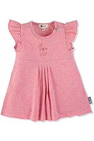 Sterntaler Girls Tunic Dress, Lottie the Llama Motif, Age: 3-4 Months, Size: 0-3m