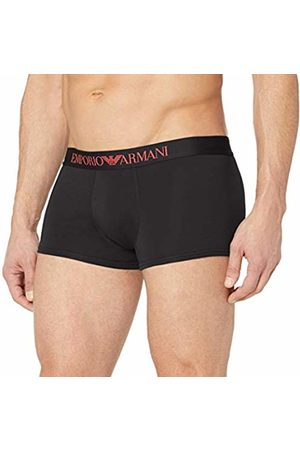 Armani Underwear Men's 9P729 Trunks (Nero 00020) X-Large