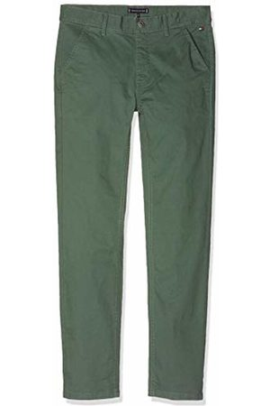 Tommy Hilfiger Boy's Essential Slim Chino Trouser (Thyme 304) 48 (Size: 5)