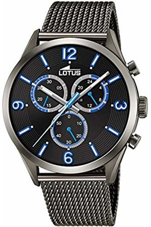 Lotus Mens Chronograph Quartz Watch with Stainless Steel Strap 18650/1