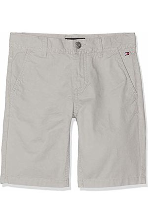 Tommy Hilfiger Boy's Essential Twill New Chino Short (Drizzle 075) 98 (Size: 3)