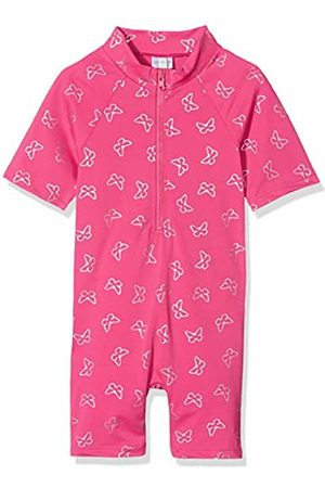 Sanetta Girl's Wetsuit Swimming Costume, (Candy)