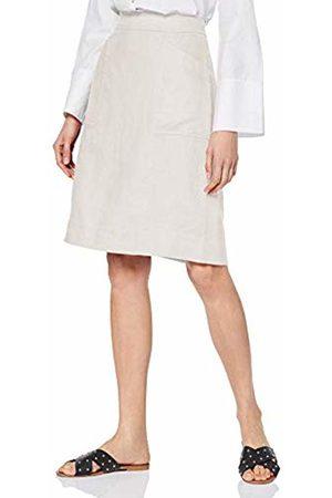 Noa Noa Women's Basic Linen Skirt