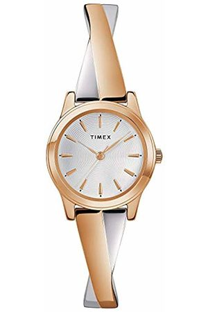 Timex Womens Analogue Classic Quartz Watch with Stainless Steel Strap TW2R98900
