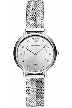 Armani Womens Analogue Quartz Watch with Stainless Steel Strap AR11128