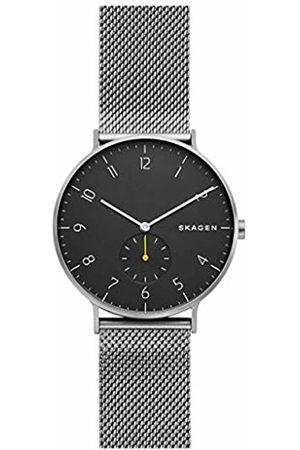 Skagen Mens Analogue Quartz Watch with Stainless Steel Strap SKW6470