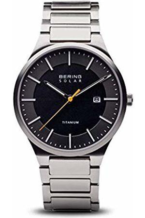 Bering Mens Analogue Quartz Watch with Titanium Strap 15239-779