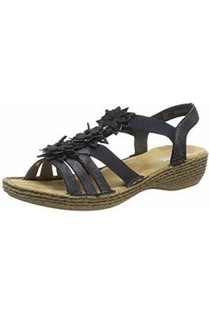 Rieker Women's 65858-14 Closed Toe Sandals