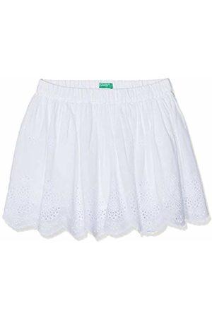 Benetton Girl's Skirt (Bianco 101)